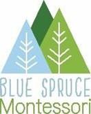 Blue Spruce Montessori logo